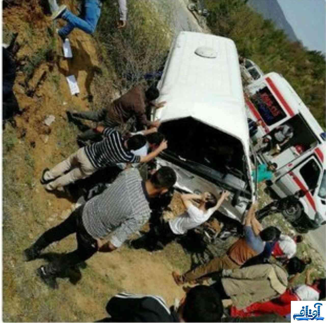تصادف دانشجویان در دامغان,تعداد کشته شدگان تصادف دانشجویان دامغان,تعداد مصدومان تصادف دامغان اردیبهشت 97,www.avtaf.com