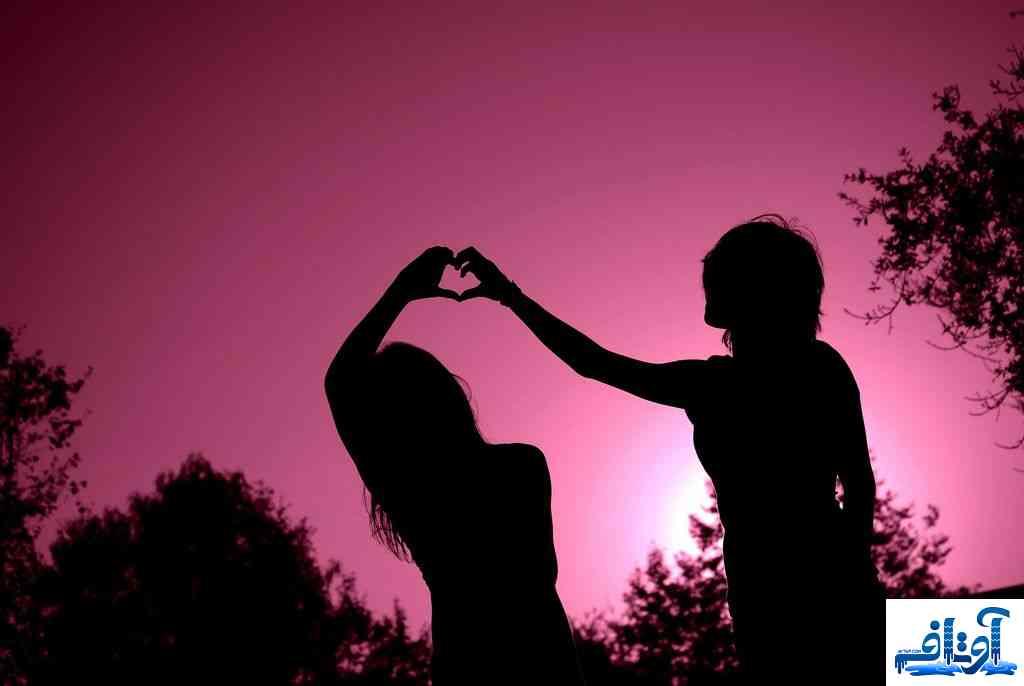 پوستر عاشقانه زیبا,پوستر عاشقانه فانتزی,پوستر عاشقانه دونفره, www.avtaf.com