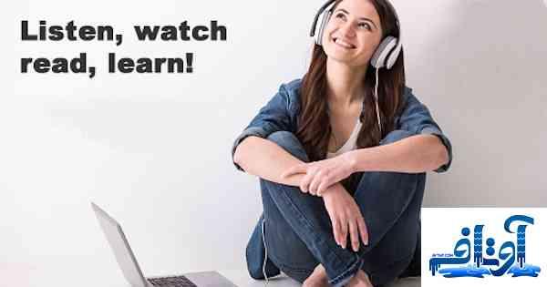 آموزش موزیکال حروف انگلیسی با تلفظ و مثال