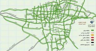 محدوده طرح ترافیک تهران