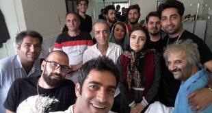 تبریک همسر احمد مهران فر و کامنت عاشقانه احمد مهران فر برای او