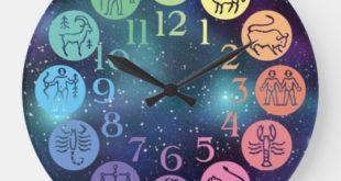 فال ساعت روزانه ، horoscope clock
